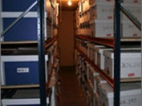 Archive & Document Storage Safe & secure storage units, monitored by CCTV - 24/7